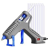 Hot Glue Gun, BOTTERRUN 60W Mini Hot Melt Glue Gun Kit with 15pcs 150mm Adhesive Glue Sticks and Practical Stand, Professional Quick Heating for DIY Arts Crafts Carpets Sealing School Home Repairs