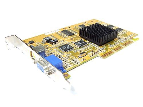 Prolink Pixelview GeForce2 MX200 VGA AGP Video Card MVGA-NVG11AL(200) 32MB W/TV (Generalüberholt) - Agp Vga Video Card