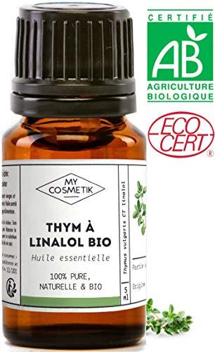 Huile essentielle de Thym à Linalol BIO - MyCosmetik - 10 ml
