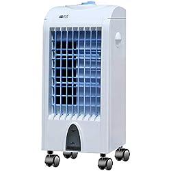 ZZQ Ventilateur de climatisation Portable à économie d'énergie Silencieux Ventilateur de climatisation Portable Ventilateur de climatisation à Refroidissement par Eau pour dortoir Familial