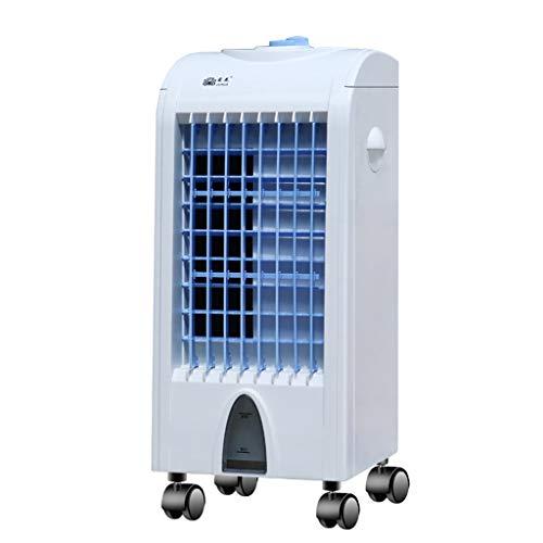 LFLFGXQ Haushaltsluftkühler leiser energiesparender tragbarer Klimaanlagenventilator wassergekühlter Klimaanlagenventilator für Familienschlafsaal