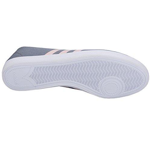 adidas Damen Qt Vulc Vs W Turnschuhe Gris (Gris / Rosvap / Grmeva)