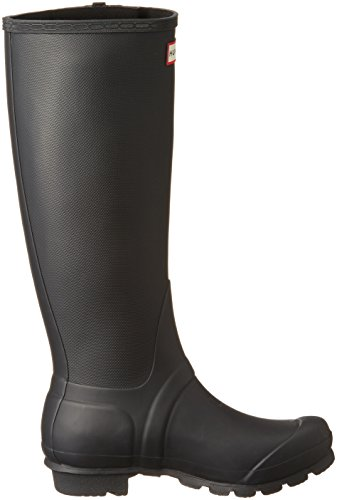 Hunter Original Pantalon slim texturé jambe Wellington Noir Noir