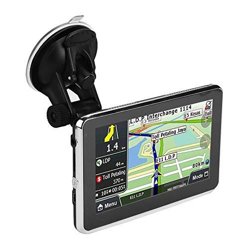Pantalla táctil del dispositivo de navegación GPS de 5 pulgadas 256 MB...