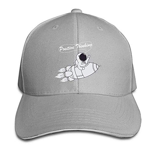 Mabaoyu Positive Thinking Caps Absorb Unisex Mens Adjustable