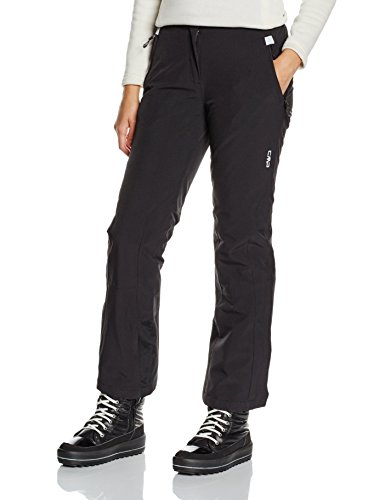 Tall Womens Ski Pants (CMP Damen Skihose 3W18596, Nero, C18)