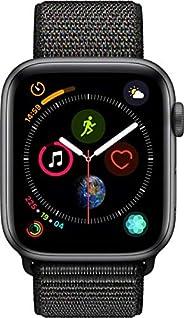 Apple Watch Series 4-40mm Space Gray Aluminum Case with Black Sport Loop, GPS + Cellular, watchOS 5