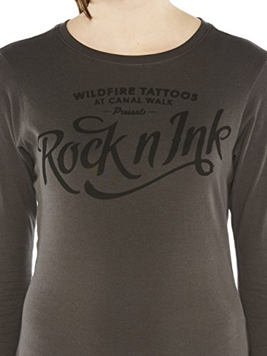 Colorado Denim Drea, T-Shirt Donna Grau (CASTLEROCK 9112)