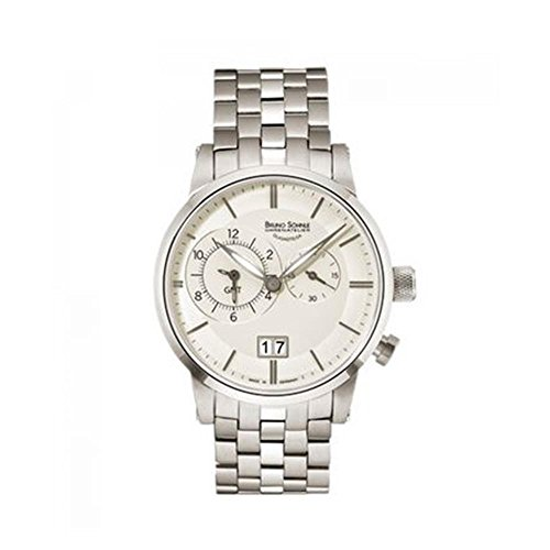 Bruno Söhnle Unisex Analogue Watch with Multicolored Dial Analogue Display and Stainless steel plated silver - 17-13043-242