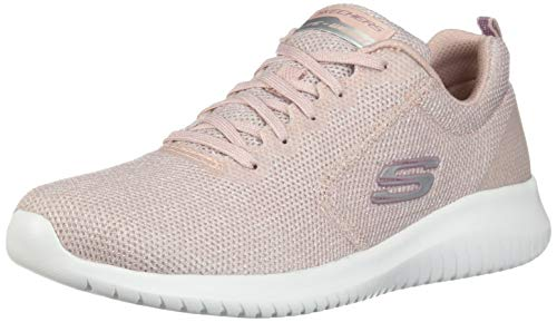 Skechers Damen Ultra Flex Sneaker, Pink (Light Pink Ltpk), 41 EU