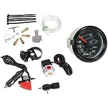 KKmoon Controlador Boost Turbo 30PSI Manual Kit de Actualización Doble Etapa