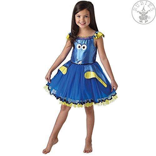 Kostüm Dory Nemo Findet - Rubie's 3620674 - Dory Tutu Dress Deluxe - Child, Verkleiden und Kostüme, M