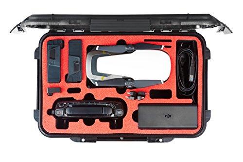 Transportbox passend für DJI Mavic Air mit Platz für 3 Akkus und Zubehör der großen Mavic Air Fly More Combo Edition vom Marktführer MC-CASES® - Made in Germany - 5 Jahre Garantie (Smart Edition)