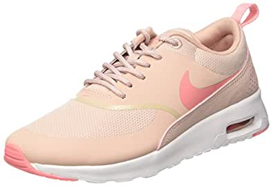 6810e9ebfe7 Image Unavailable. Image not available for. Colour  Nike Women s Air Max  Thea Pink Oxford Bright Melon White Running Shoe ...