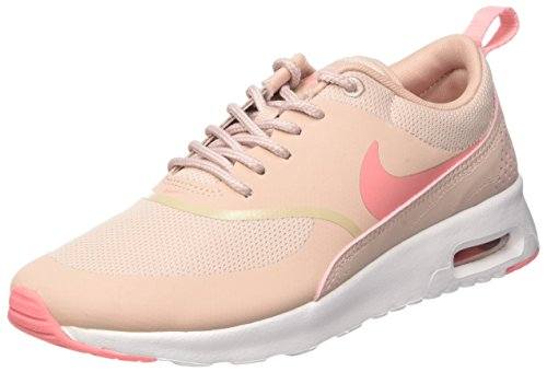 Nike Air Max Thea 599409 Damen Laufschuhe, Pink (Pink Oxford/brt Melon-white), 40.5 Air Oxford