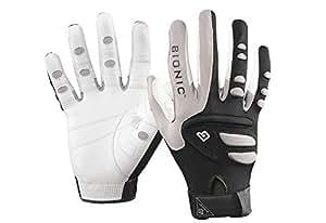 Louisville Slugger Bionic Right Hand Unisex Racquetball Glove - Black/Grey/White, Medium Pack