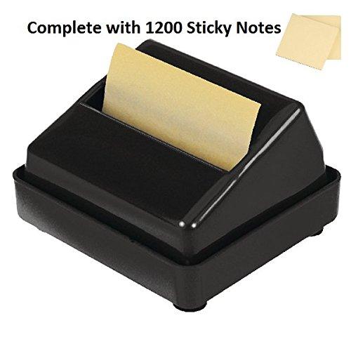 Haftnotiz Post-it Z-Notes Spender, komplett mit 1200Halterung Gratis endlos gelb Notes
