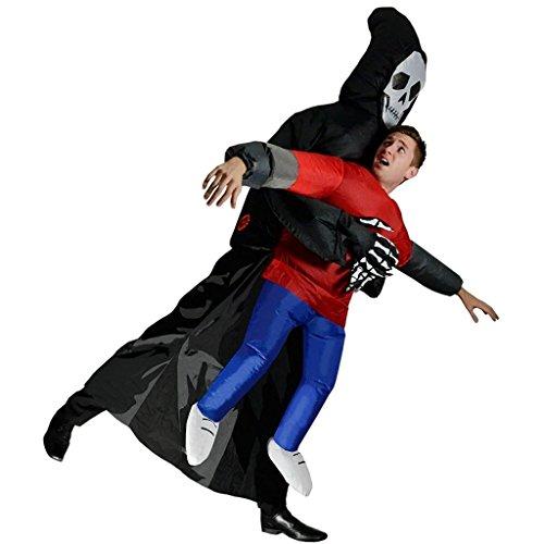 Aufblasbares Kostüm Cosplay für Fasching (Erwachsene Aufblasbare Schwarz Kostüme Für)