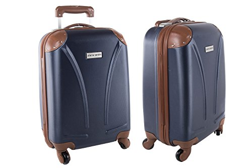 Maleta rígida PIERRE CARDIN azul mini equipaje de mano ryanair S161