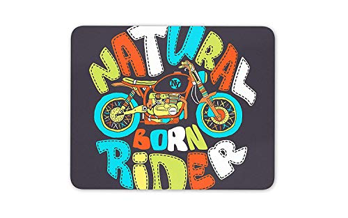 Cool Cafe Racer Motorcycle Mouse Mat Pad - New York Easy Rider Fun Gift #14701