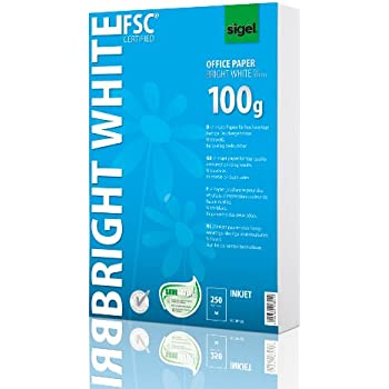 Sigel IP125 Papier d'imprimante jet d'encre, format A4 (21 x 29,7 cm), 250 feuilles
