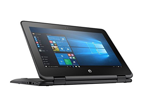 HP 2-in-1 ProBook X360 High Performance 11.6 Inch HD Touchscreen Laptop PC, Intel Celeron N3350 Dual-Core, 4GB RAM, 128GB SSD, Bluetooth 4.2, WiFi, Windows 10 Pro
