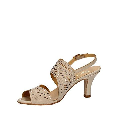 GRACE SHOES 9882 Sandalo tacco Donna Beige