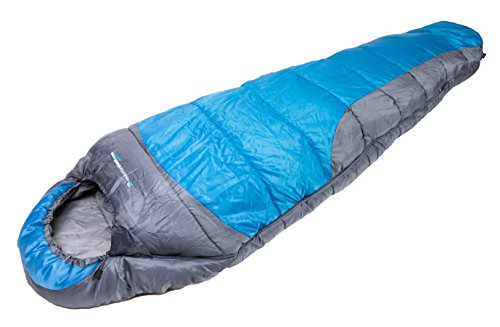 4 Season 0�C comfort Warm Mummy Sleeping Bag Ideal for Camping, Backpacking and Hiking with Carrying Case by MountainShack