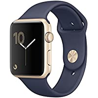 Apple Watch Series 1 OLED Oro reloj inteligente - Relojes inteligentes (OLED, Pantalla táctil, Wifi, 18 h, 30 g, Oro)