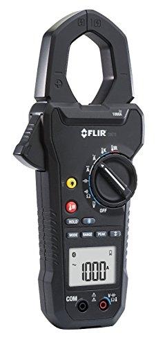 Preisvergleich Produktbild FLIR 1000 A AC/DC Strommesszange mit IR-Thermometer, 1 Stück, CM78