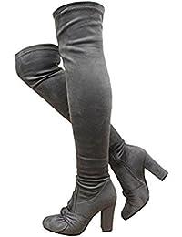 Saute Styles - botas altas mujer
