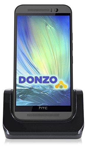 USB Docking-Station|Ladegerät für HTC One M9 von DONZO inkl. micro-USB Daten-Kabel Schwarz ist ein praktisches Zubehör Produkt für jeden Tisch