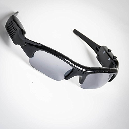 PMS Sport Brille Covert Kamera w/Video/Audio-In bedruckter BO