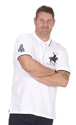 Urban Revival Herren Poloshirt XXXXX-Large Weiß