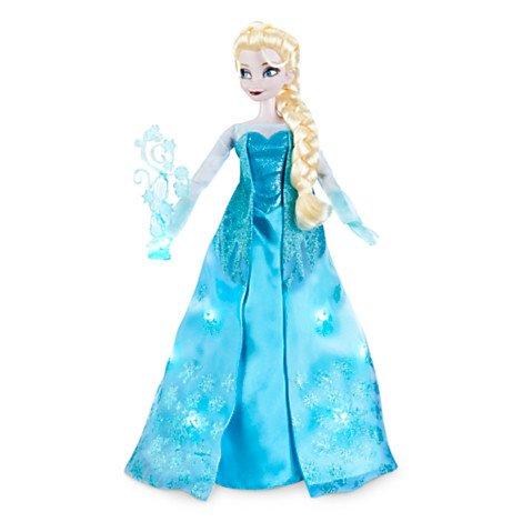 e Deluxe ca. 42 cm (Let It Go Elsa Kostüm)