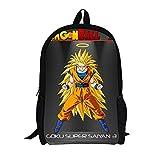 Cosstars Dragon Ball Anime Imagen Mochila de la Escuela Estudiante...