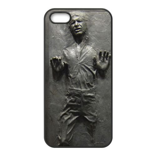 iPhone 5 5s SE Phone Covers Black Marvel Movie Star Wars Han Solo Cell Phone Case 2T9074333 (Iphone 5s Wwe)