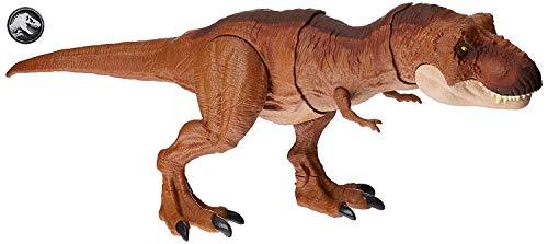 Dinosaurier Für Verkauf Kostüm - Mattel FMY70 - Jurassic World Schleuderaction Tyrannosaurus Rex, T Rex Dinosaurier Spielzeug ab 4 Jahren