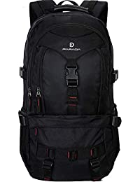 Fafada Mochila para Portatil Hombre Mujer Casual Lona Vintaje Retro Cremallera Backpack PC Laptop 14.6 Pulgadas Mochila Escolar…