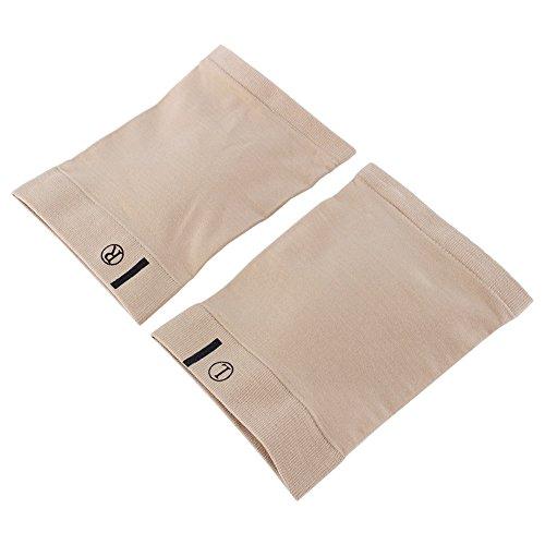 Dewin Bogen-Unterstützungen - Silikon-Massage-Fuß-Bogen-Unterstützung, Gel-Fersen-Kissen-Einlegesohle, wundere Flache Füße