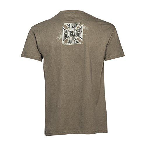 West Coast Choppers T-Shirt Logo Khaki