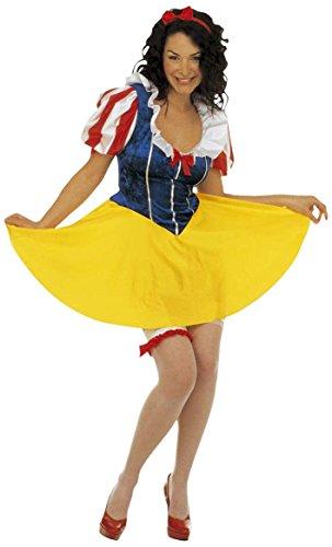 Costume Donna Biancaneve 'Principessa delle Favole' - Adulto - Taglia M