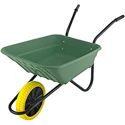 The Walsall Wheelbarrow Company Walsall Brouettes comté Poly increvables Brouette - Vert