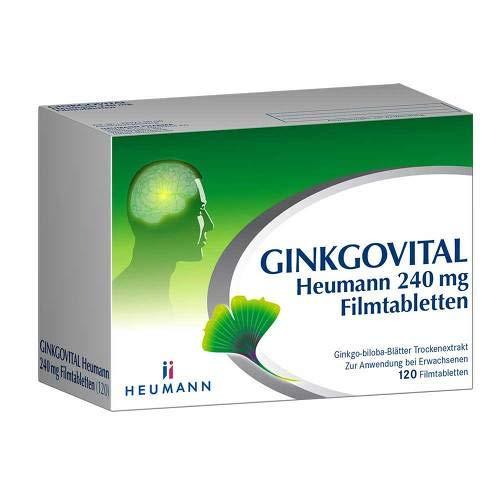Ginkgovital Heumann 240 mg, 120 St. Filmtabletten -