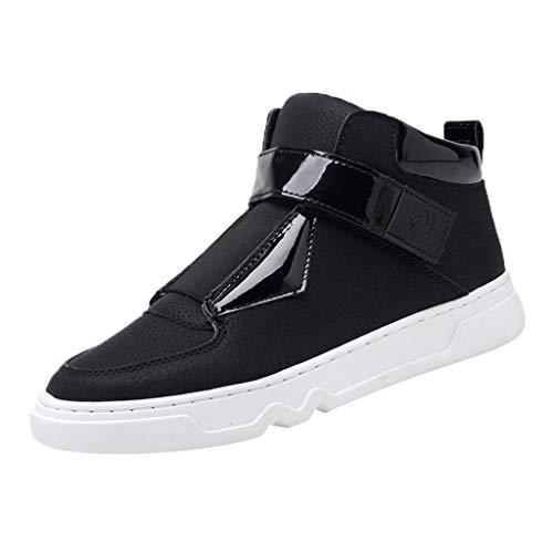 FRAUIT Sneakers Uomo Pelle Alte Running Stivali Moto Racing Ragazzo Scarpe Trekking Uomini Impermeabili Scarponcini Da Lavoro Da Montagna Stivaletti Eleganti In Pelle Polacchine Boots Waterproof