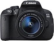 Canon EOS 700D + EF-S 18-55mm 18MP CMOS 5184 x 3456Pixels Nero (Ricondizionato) )