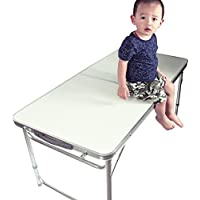 Nestling® 4FT Portable Folding Table Camping Banquet Picnic Party Garden Foldable BBQ Table