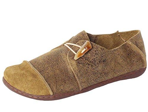 vogstyle-donna-scarpe-stringate-basse-casuale-stile-1-verde-41