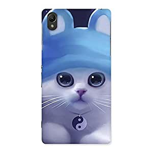 Enticing Tie Chi Cat Multicolor Back Case Cover for Sony Xperia Z2