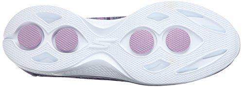 Skechers Performance Go Marche 4 Electrify Flourish Chaussure de marche Gray/Purple